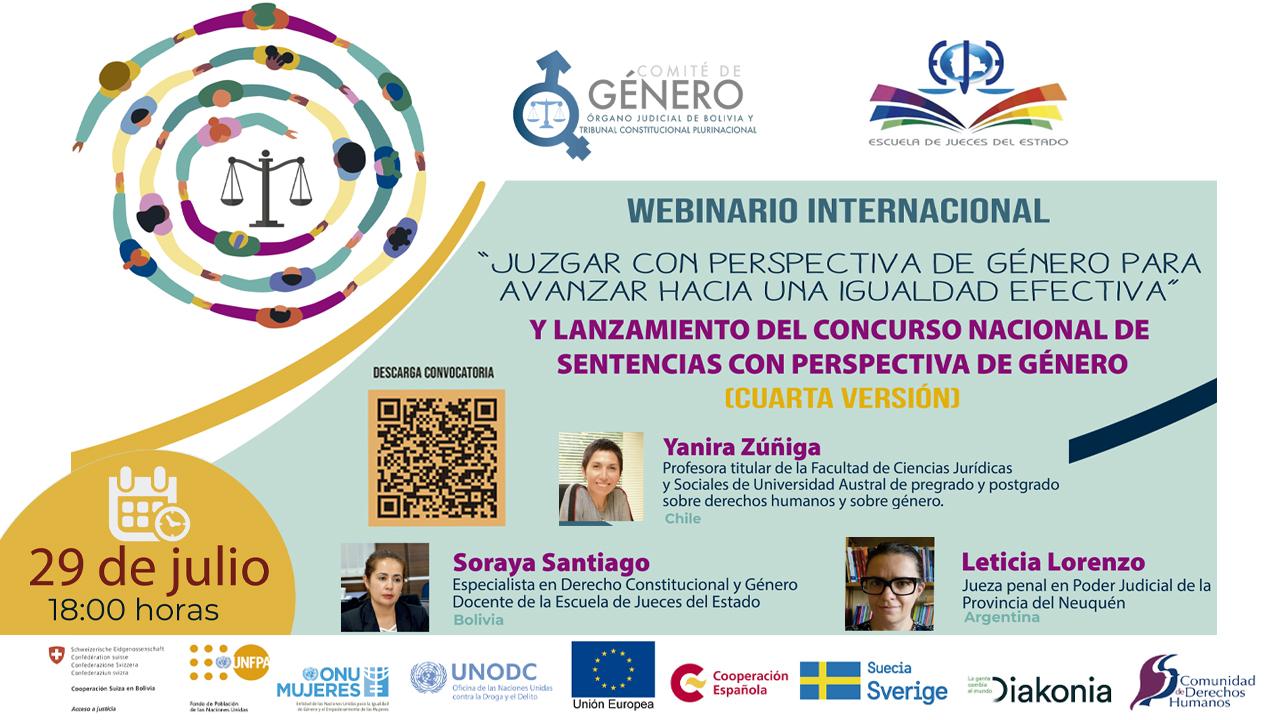 WEBINARIO INTERNACIONAL Y LANZAMIENTO DE CONVOCATORIA NACIONAL