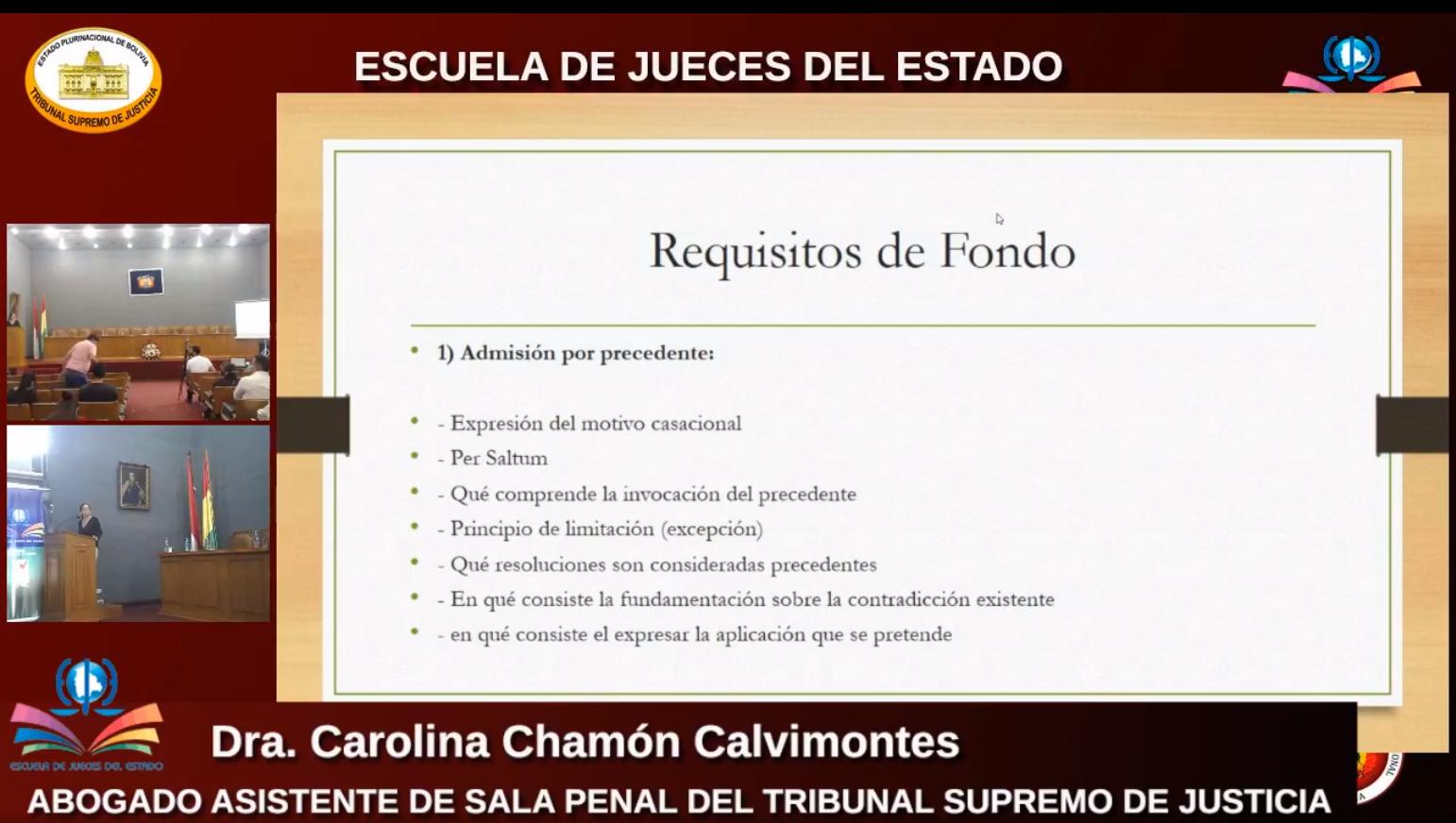 CURSO DE CAPACITACIÓN ES DESARROLLADO EN CUATRO CIUDADES TARIJEÑAS
